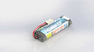 20-01-2013-100 - Akku - Battery - 7,2 V NiMH