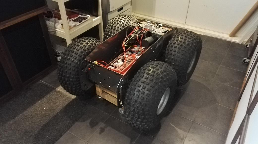 Electromyrmex prototyyppi
